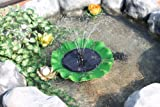 Beautiful High Quality Solar Floating Lily Fountain