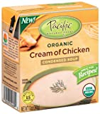 51Zxd4KVp%2BL. SL160  Pacific Natural Foods Organic Cream Of Chicken Condensed Soup, 12 Ounce Boxes (Pack of 12)