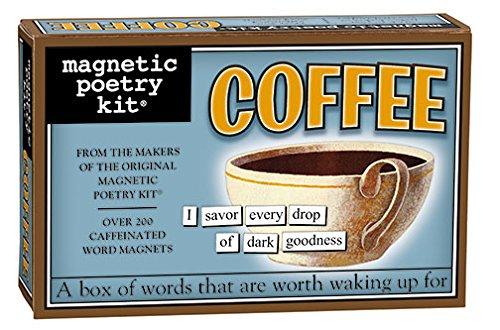 Coffee Magnetic Poetry Kit