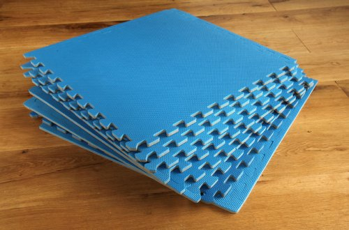 Interlocking Gym Play mats 8 pack 32 sq ft