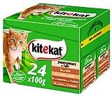 Kitekat Multipack 24 Jagdschmaus in Soße 2x - Katzenfutter