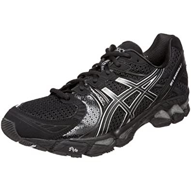 ASICS Men's GEL-Kayano 17 Running Shoe,Black/Onyx/Lightning,12.5 M