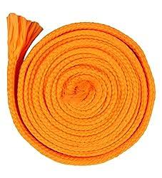Sri Vaari Lace Orange Polyester Shoe Lace