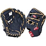 Rawlings Gold Glove Gamer XLE Glove (Navy Camel), 11.5-Inch by Rawlings