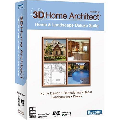 3D Home Architect Home & Landscape Design Suite v.9 Bilingual