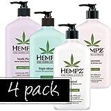 Hempz Herbal Moisturizer 4 Pack
