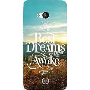 Casotec Dreams Design Hard Back Case Cover for Microsoft Lumia 550