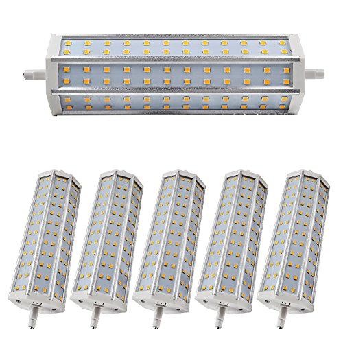 6X Warm White Low Smd 2835 Led R7S Bulb 14W Dimmable Lighting 1296Lm Ac 85-265V