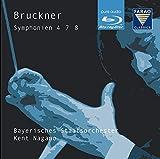 ブルックナー : 交響曲 第4番 第7番 第8番 (Bruckner : Symphonien 4 7 8 / Kent Nagano , Bayerisches Staatsorchester) [Pure Audio Blu-ray] [輸入盤]