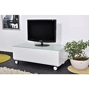design meuble soundvision svw blanc