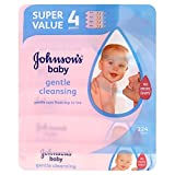 Johnson's Baby Gentle Cleansing Wipes (56 per pack x 4)