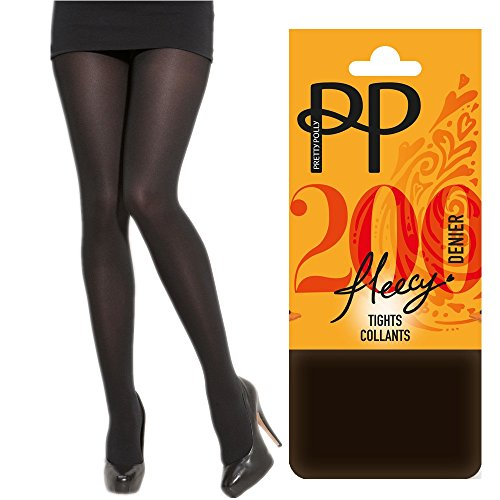 pretty-pollyr-200-denier-thermal-fleece-fleecy-opaque-extremely-soft-cosy-tights-collant-chocolate-b