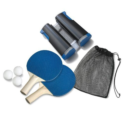 Lowest Price! The Black Series by Shift3 Retractable Table Tennis Set