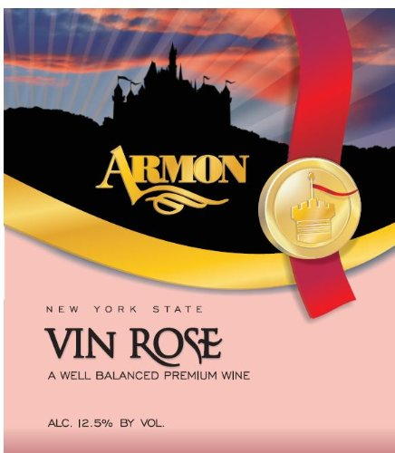 Nv Armon Vin Rose New York Rosé 1.5 L