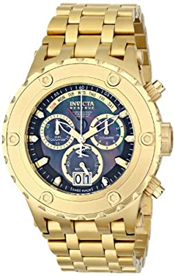 Invicta Men's 80487 Subaqua Analog Display Swiss Quartz Gold Watch