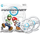 Mario Kart Wii with Two Wii Wheels