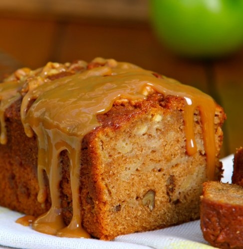 Tart Apple with Caramel Bread - Medium