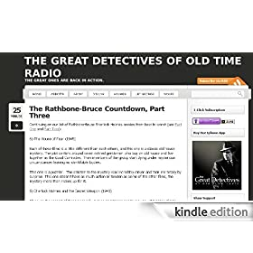 The Great Detectives of Old Time Radio Articles
