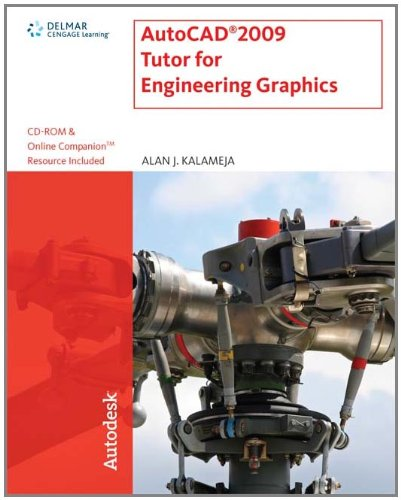 AutoCAD  2009 Tutor for Engineering Graphics (Autodesk) - Autodesk Press - 1435402561 - ISBN:1435402561