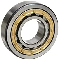 SKF NU 313 ECM/C3 Cylindrical Roller Bearing, Single Row, Removable Inner Ring, Straight Bore, High Capacity, C3 Clearance, Brass Cage, Metric, 65mm Bore, 140mm OD, 33mm Width