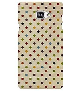 Chiraiyaa Designer Digital Printed Premium Back Cover Case for Samsung Galaxy J7 Prime (dot pattern) (Multicolor)