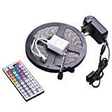 Tingkam® Waterproof 5M 5050RGB Led Strips Lighting 100 % deal because of 44Key IR far off For residential lighting and Kitchen