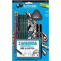 10 Pc. Prismacolor Scholar Manga Drawing Set