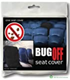 BugOff Bed Bug Seat Cover / Protector - Black - Package of 12