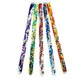 Toysmith Jumbo Spiral Glitter Wand (Assorted Colors)