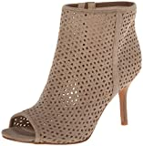 Nine West Womens Glyn Suede Boot, Taupe, 7 M US