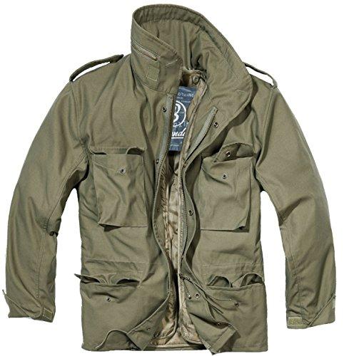 Brandit Giacca Outdoor Uomo M65Field Jacket Parka oliva XXXXL