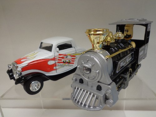 Toy Car Combo Set 2, Car and train (white-black)