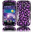 Samsung illusion I110 Samsung Galaxy Proclaim S720C Design Cover - Purple leopard