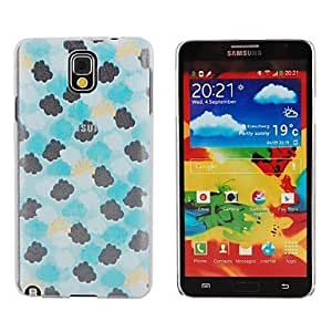 Elonbo Cloudy Weather Stone Pattern Style Hard Back Case Cover for Samsung Galaxy Note 3 N9000 N9005