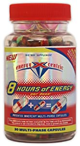 Energyxcentric 8 Hours Of Energy 30-count from Health International Products, Inc.