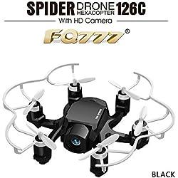 XT-XINTE FQ777-126C FQ777 126C MINI Drone with 2MP HD Camera RC quadcopter MODE1 & MODE2 switch headless4CH 6Axis Gyro