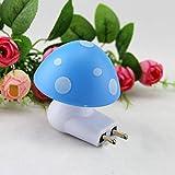 Pindia Automatic Night Sensor Mushroom Lamp