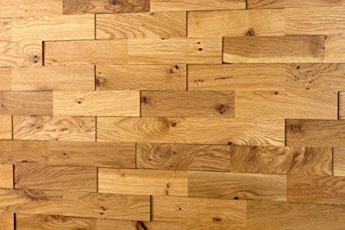 wodewa eiche rustikal astig echtholz 3d optik 200 x 50cm massivholzriemchen wandverkleidung. Black Bedroom Furniture Sets. Home Design Ideas