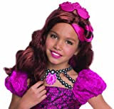 Rubies Ever After High Child Briar Beauty Wig with Headpiece