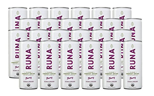 Runa Clean Energy Drink, 8.4 Ounce (Pack of 24)