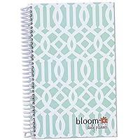 2015 Calendar Year bloom Daily Day Planner Fashion Organizer Agenda January 2015 Through December 2015 Mint Trellis