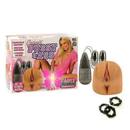California Exotics / Swedish Erotica Casey´s Parker Vagina & Anus Masturbator Adult Sex Toy Kit