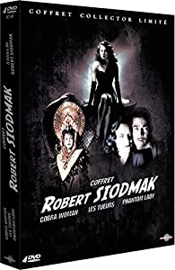 Robert Siodmak - Coffret - Les tueurs + Phantom Lady + Cobra Woman [Édition Collector Limitée]