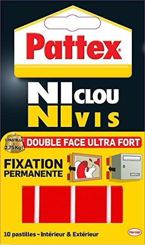 Pattex colla senza chiodi senza viti tube de 260g for Chiodi adesivi