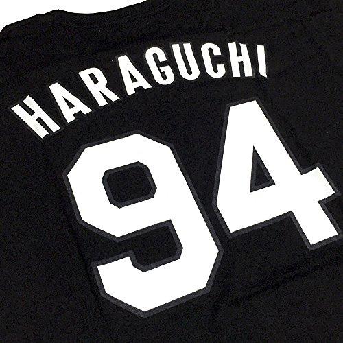 阪神タイガース「原口文仁 背番号Tシャツ」黒 フリーサイズ …