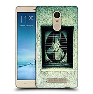 Snoogg Broken Ventilation Fan Printed Protective Phone Back Case Cover For Xiaomi Redmi Note 3
