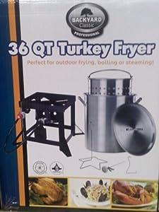 Backyard Classic Professional 36 Qt. Turkey Fryer by Backyard