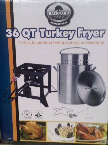 check out backyard classic professional 36 qt turkey
