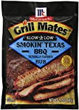 McCormick Grill Mates Slow and Low BBQ Rub, Smokin Texas, 1.75 Ounce (Pack of 10)