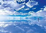 500ピース ジグソーパズル めざせ! パズルの達人 世界の絶景 天空の鏡ウユニ塩湖-ボリビア (38x53cm)